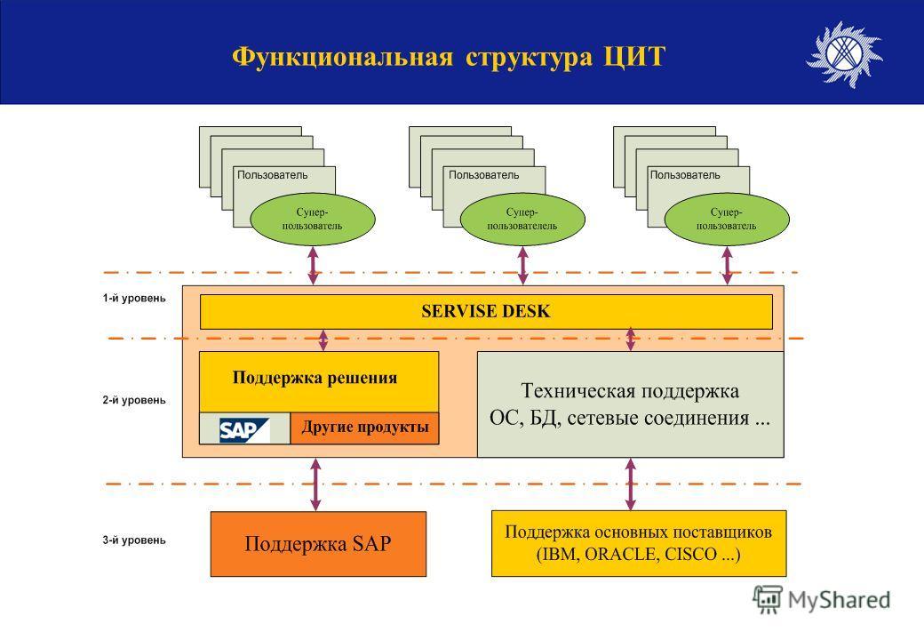 Функциональная структура ЦИТ