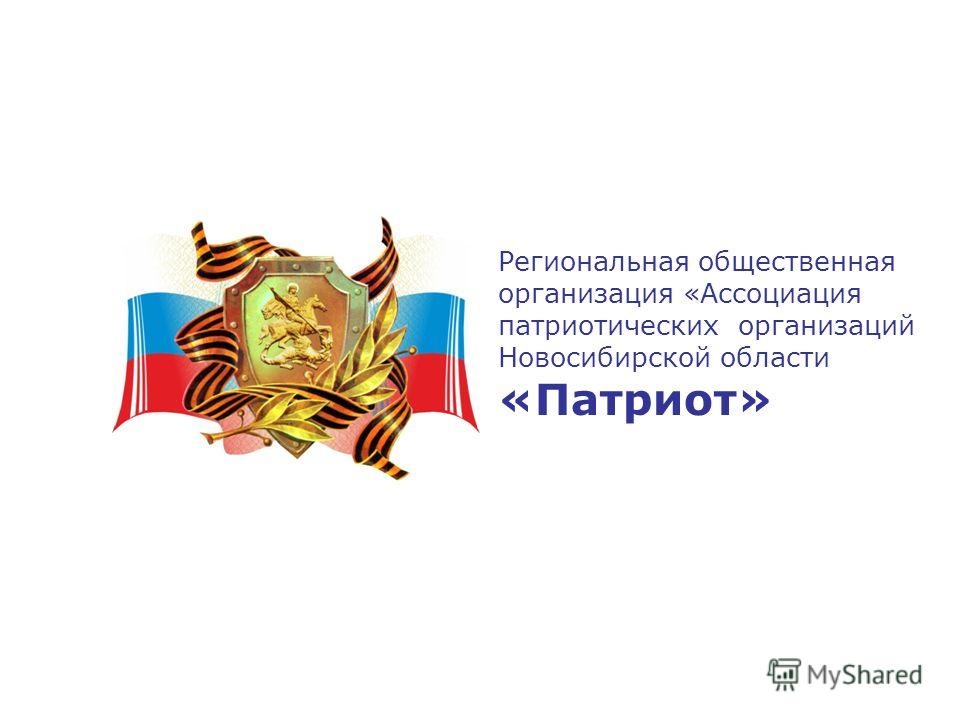 Региональная общественная организация «Ассоциация патриотических организаций Новосибирской области «Патриот»
