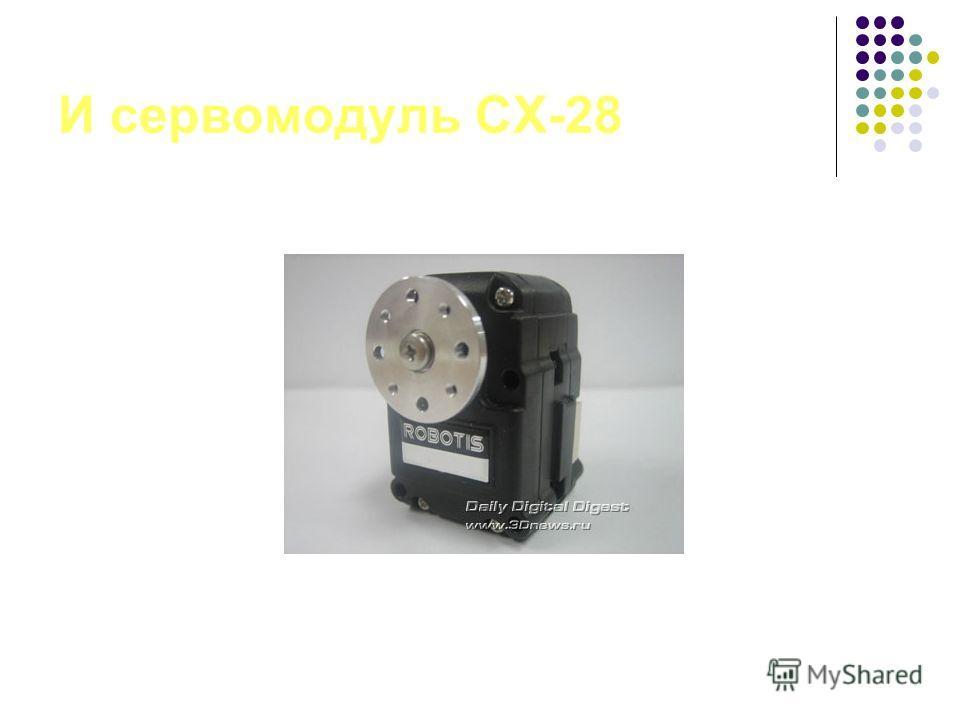 И сервомодуль CX-28