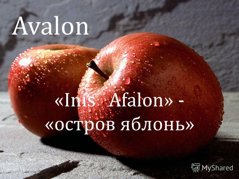 Avalon «Inis Afalon» - «остров яблонь»