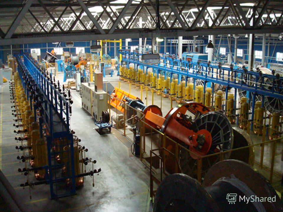 Комплекс по производству судовых кабелей ОАО «Севкабель»