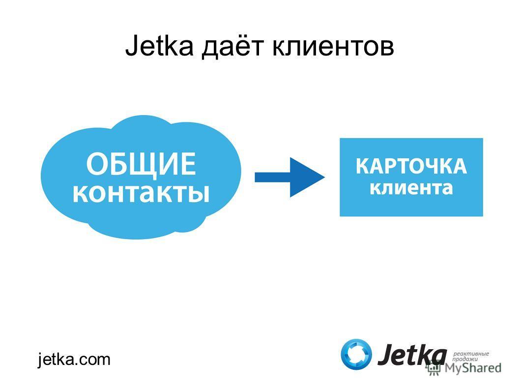 Jetka даёт клиентов jetka.com