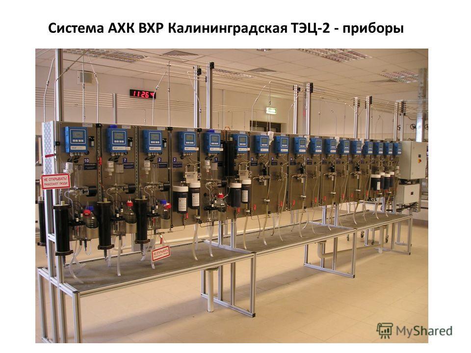 Система АХК ВХР Калининградская ТЭЦ-2 - приборы