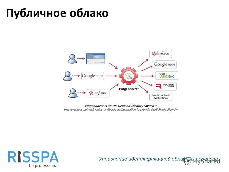 Публичное облако Управление идентификацией облачных сервисов