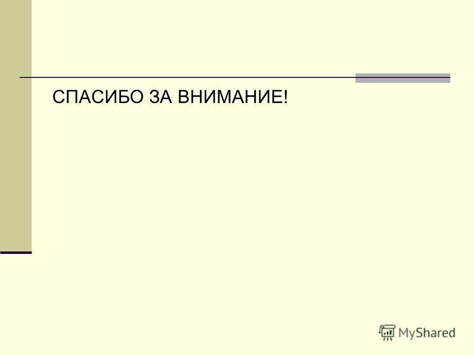 CПАСИБО ЗА ВНИМАНИЕ!