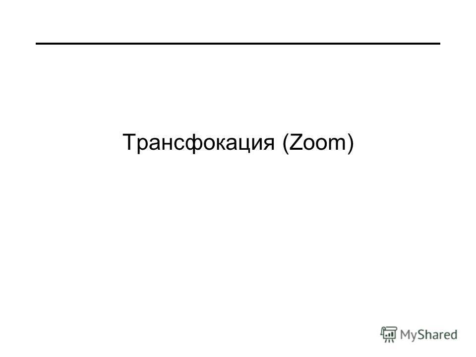 Трансфокация (Zoom)
