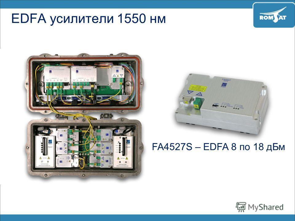 FA4527S – EDFA 8 по 18 дБм EDFA усилители 1550 нм
