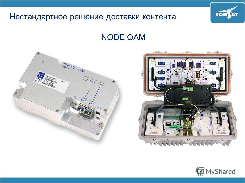 Нестандартное решение доставки контента NODE QAM