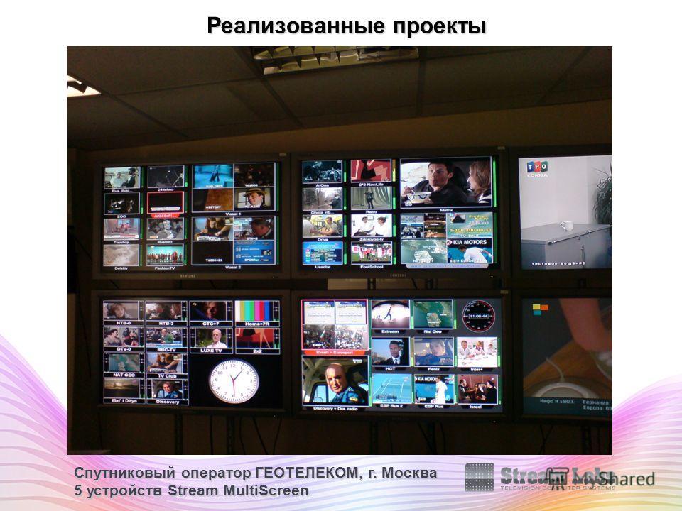 Спутниковый оператор ГЕОТЕЛЕКОМ, г. Москва 5 устройств Stream MultiScreen