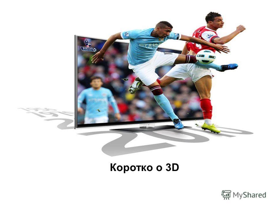 Коротко о 3D
