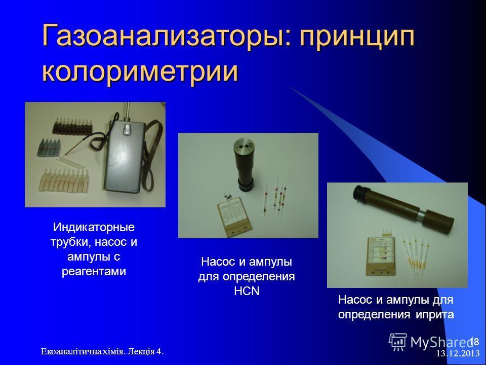 Схема ИК-анализатора для