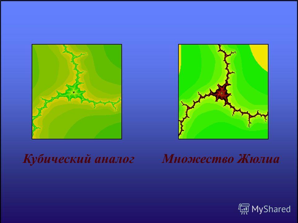 Кубический аналогМножество Жюлиа