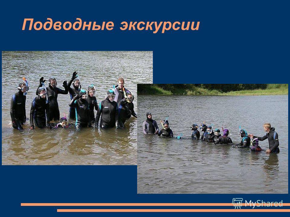 Подводные экскурсии