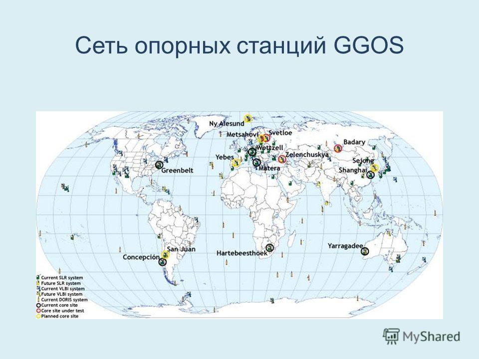 Сеть опорных станций GGOS