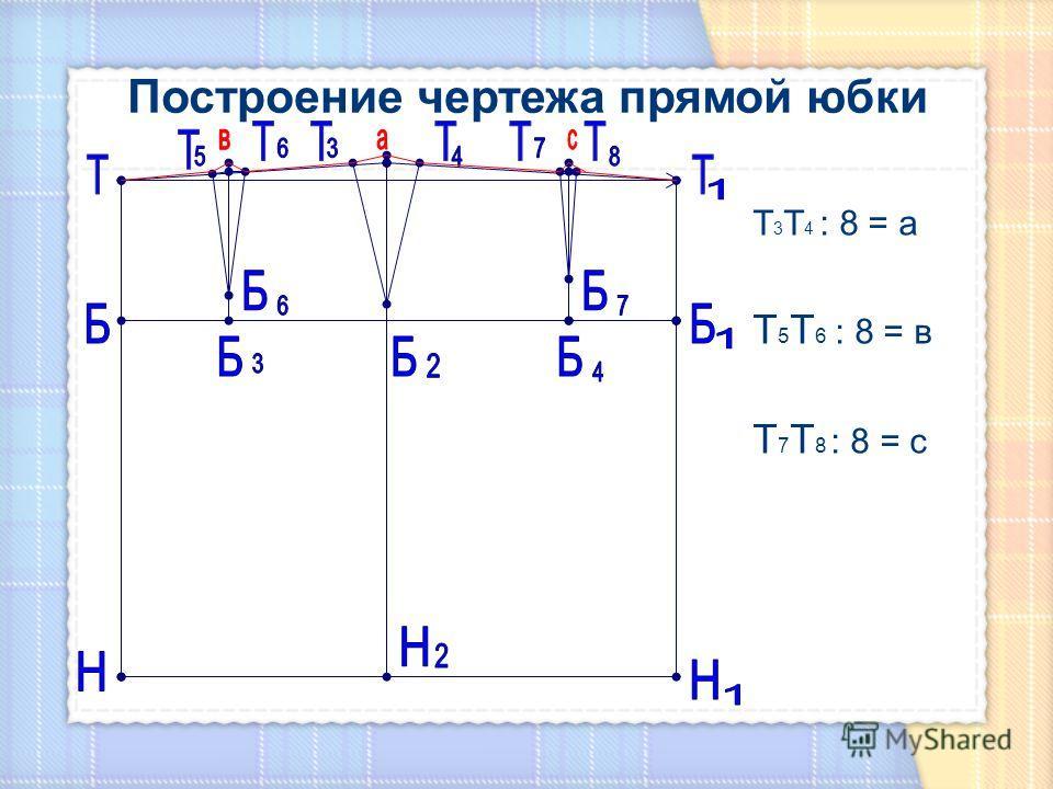 Т 3 Т 4 : 8 = а Т 5 Т 6 : 8 = в Т 7 Т 8 : 8 = с