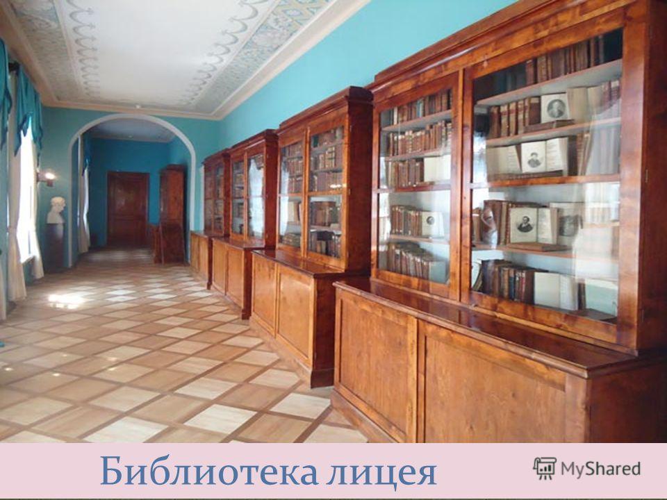 Библиотека лицея