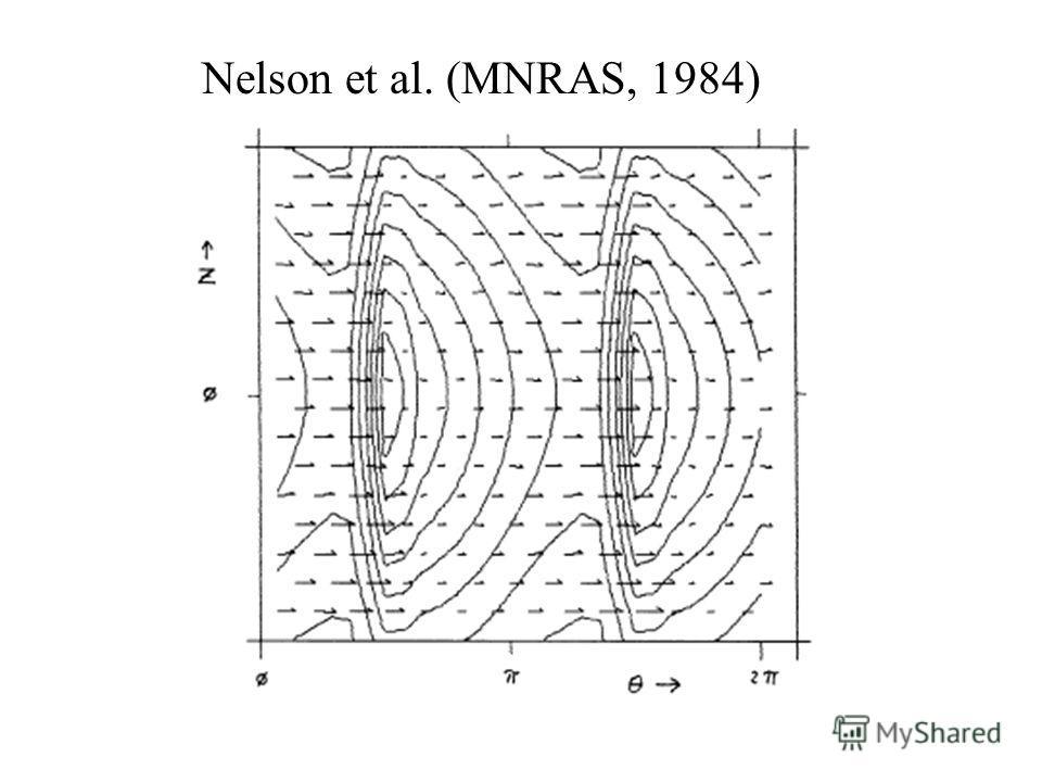 Nelson et al. (MNRAS, 1984)