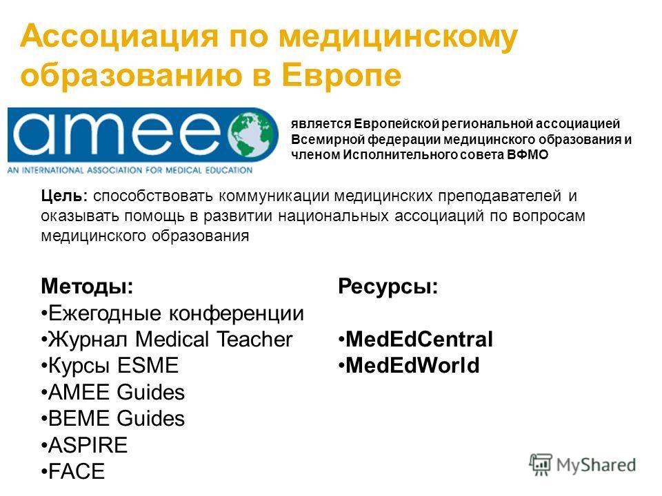 Информация для медицинских преподавателей