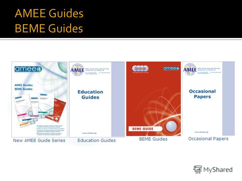 ESME – базовые умения в медицинском образовании. ESMEA – базовые умения оценки знаний в медицинском образовании. ESTEME – базовые умения для высокотехнологичного медицинского образования RESME – базовые умения проведения исследований в области медици