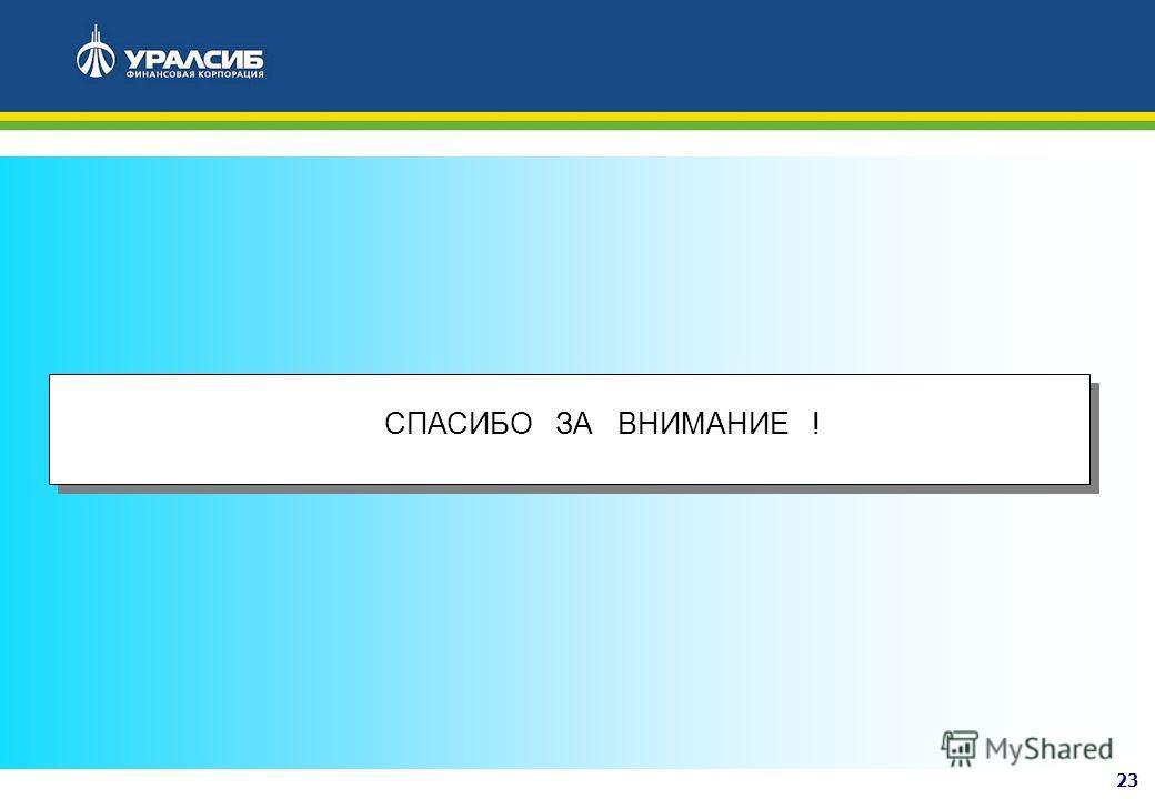 23 1.ПРОЕКТ РЕШЕНИЯ СПАСИБО ЗА ВНИМАНИЕ !