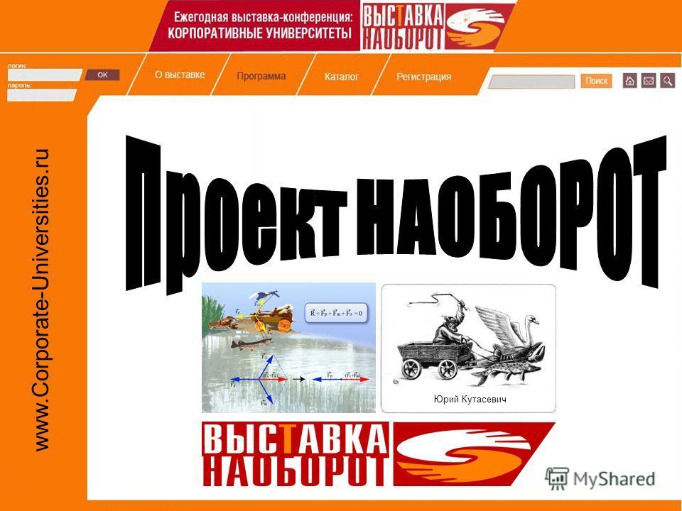 www.Corporate-Universities.ru Юрий Кутасевич