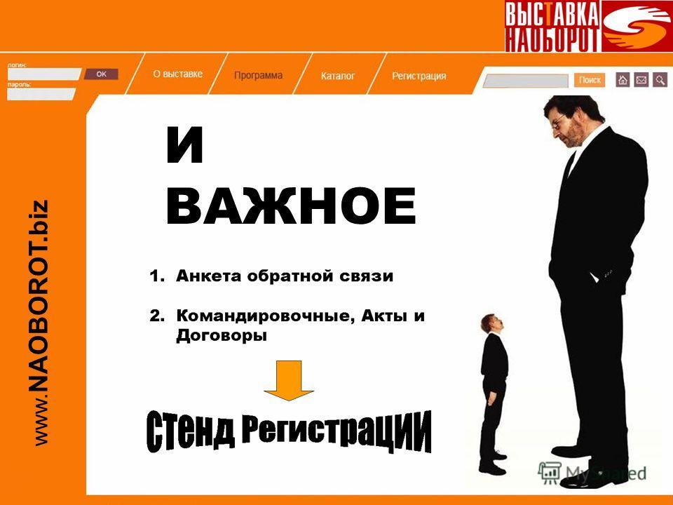 www. NAOBOROT.biz И ВАЖНОЕ