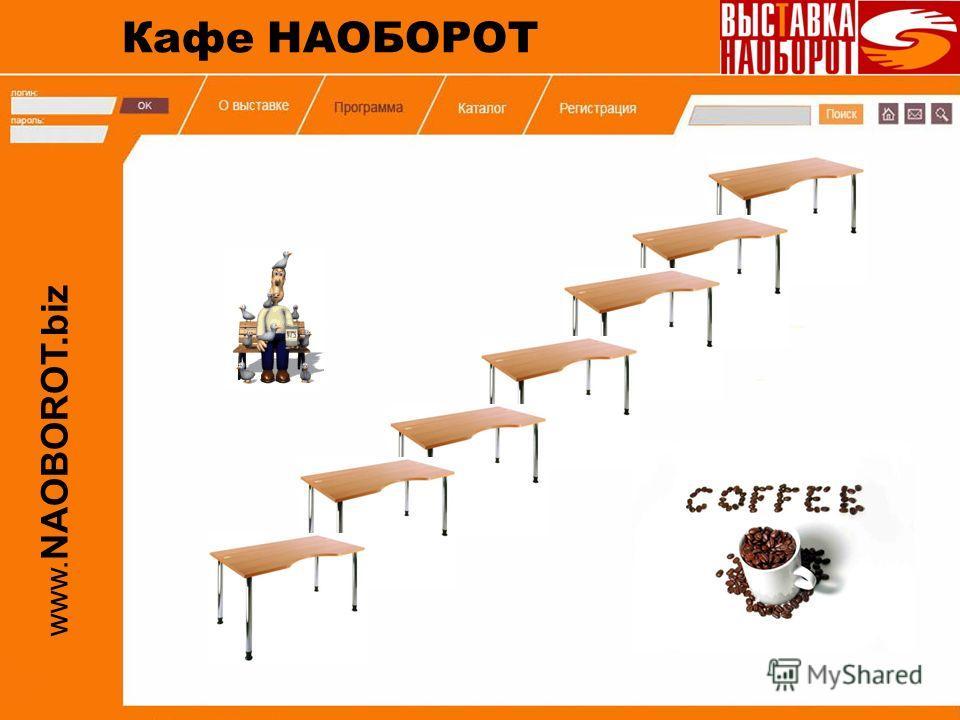www. NAOBOROT.biz Кафе НАОБОРОТ
