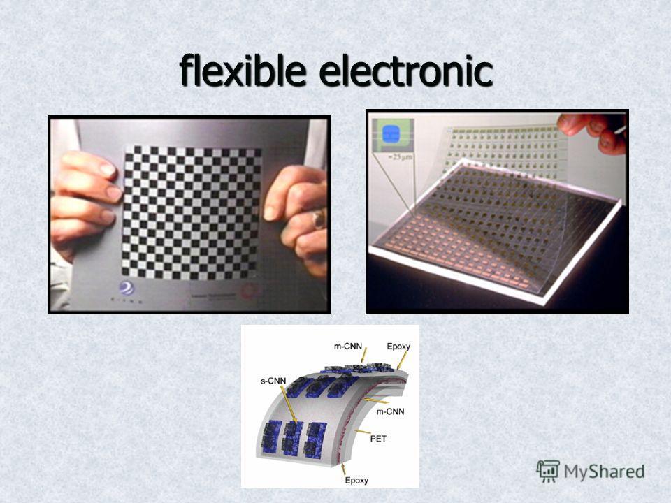flexible electronic