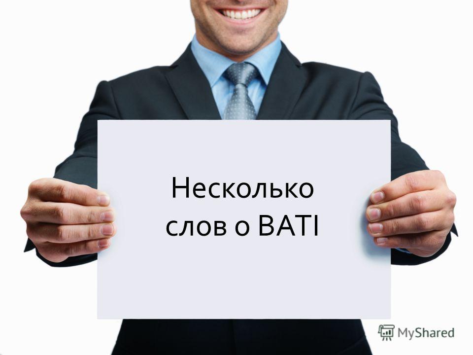 2 Несколько слов о BATI