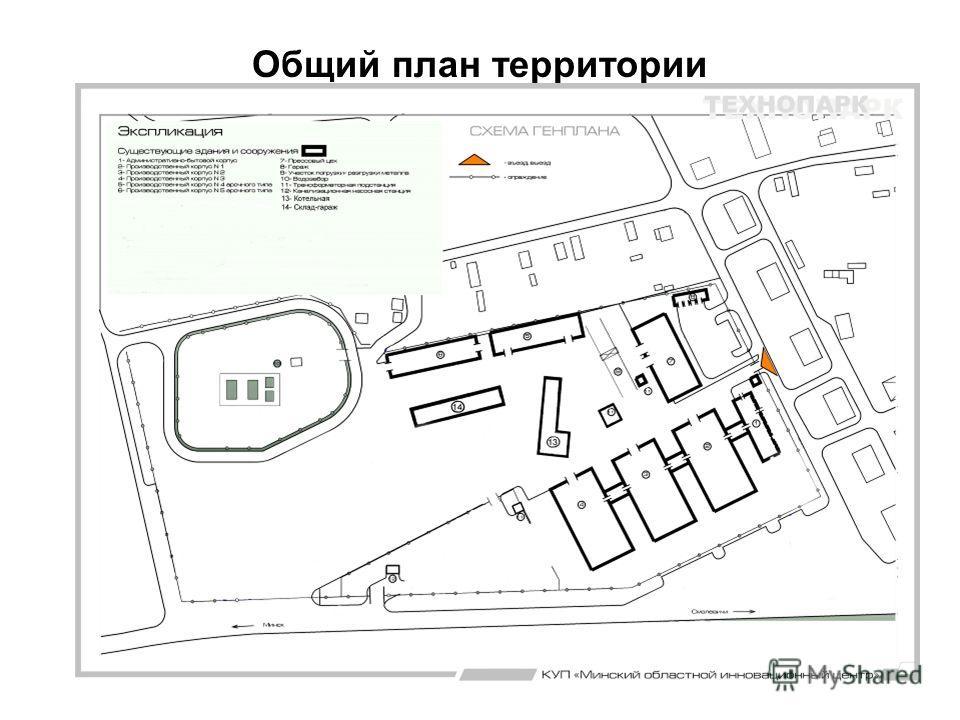 Общий план территории