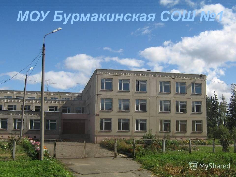 МОУ Бурмакинская СОШ 1