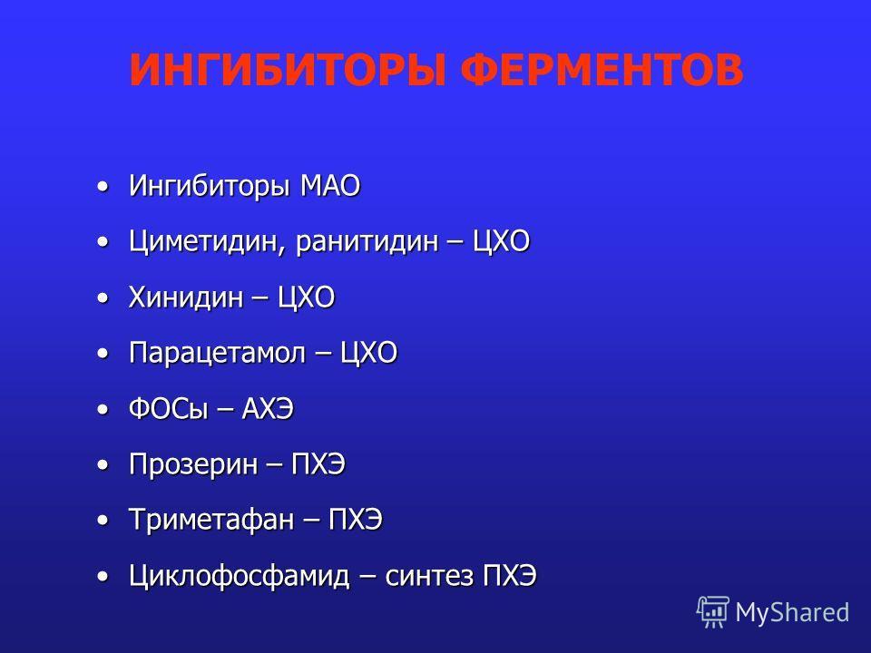 Циметидин фото