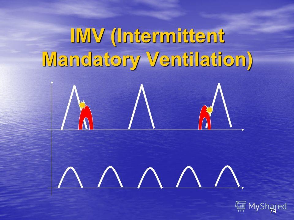 74 IMV (Intermittent Mandatory Ventilation)