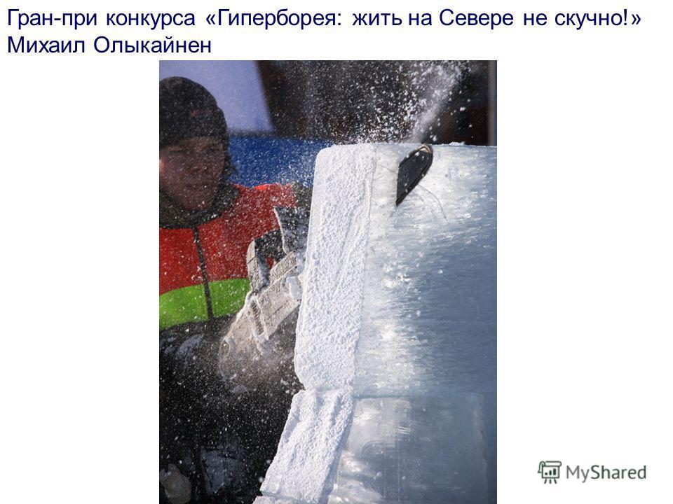 Гран-при конкурса «Гиперборея: жить на Севере не скучно!» Михаил Олыкайнен