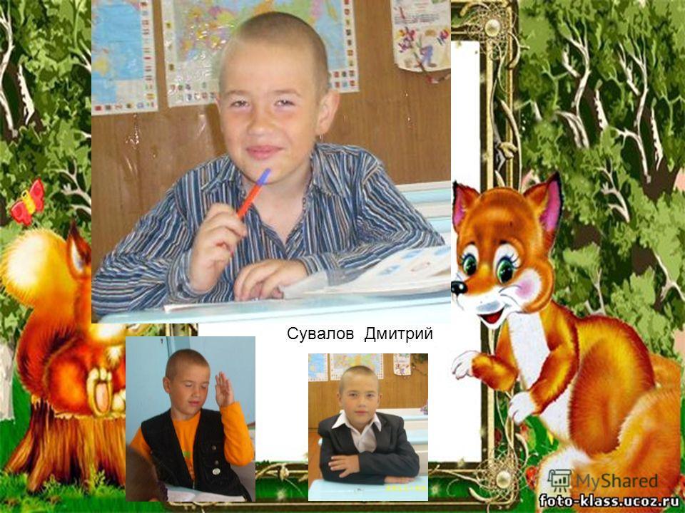Сувалов Дмитрий