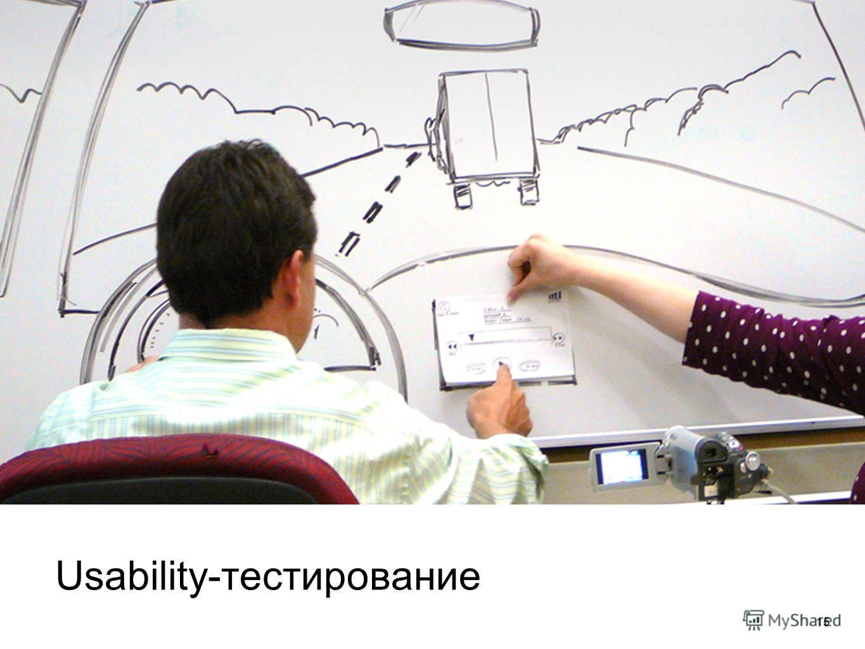 15 Usability-тестирование