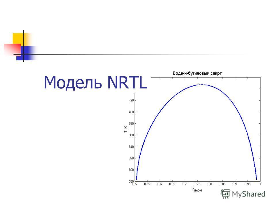 Модель NRTL