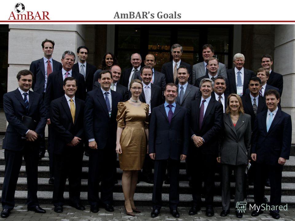 AmBARs Goals