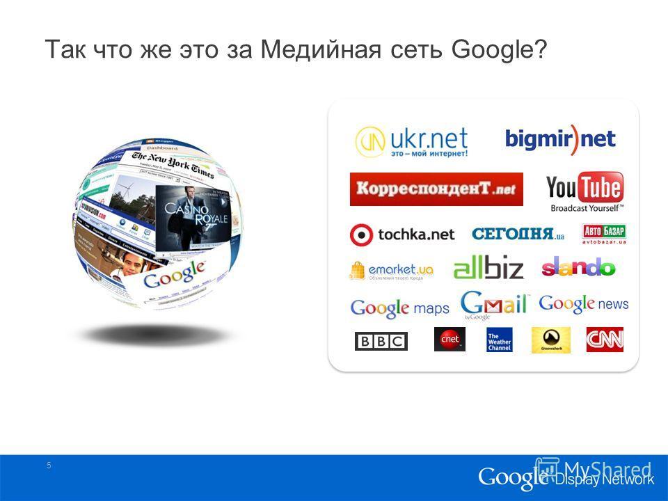 Так что же это за Медийная cеть Google? 5