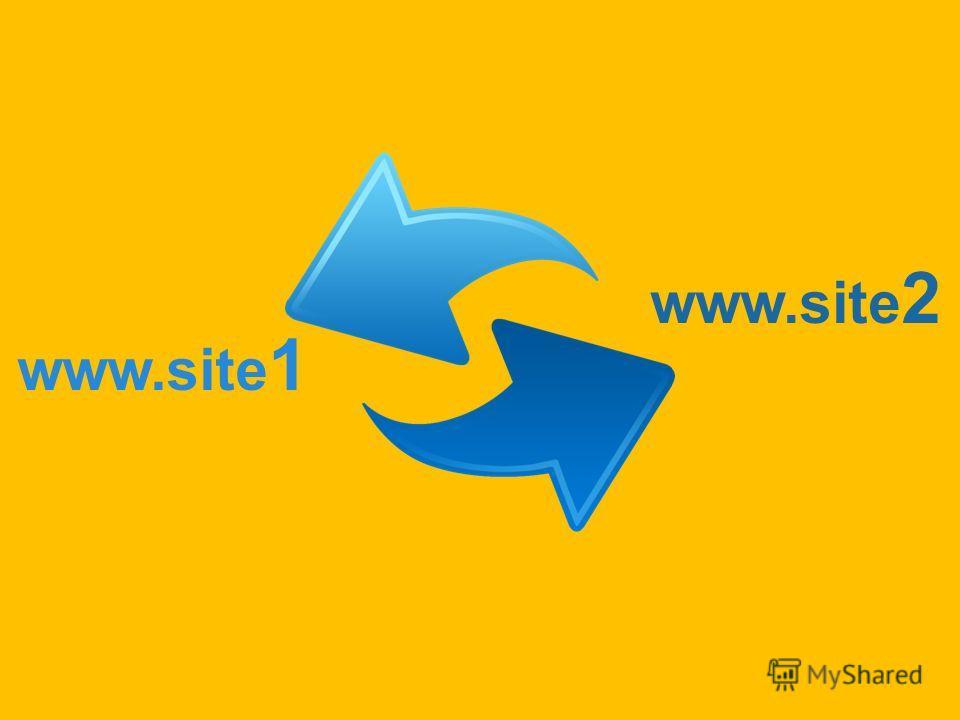 www.site 1 www.site 2