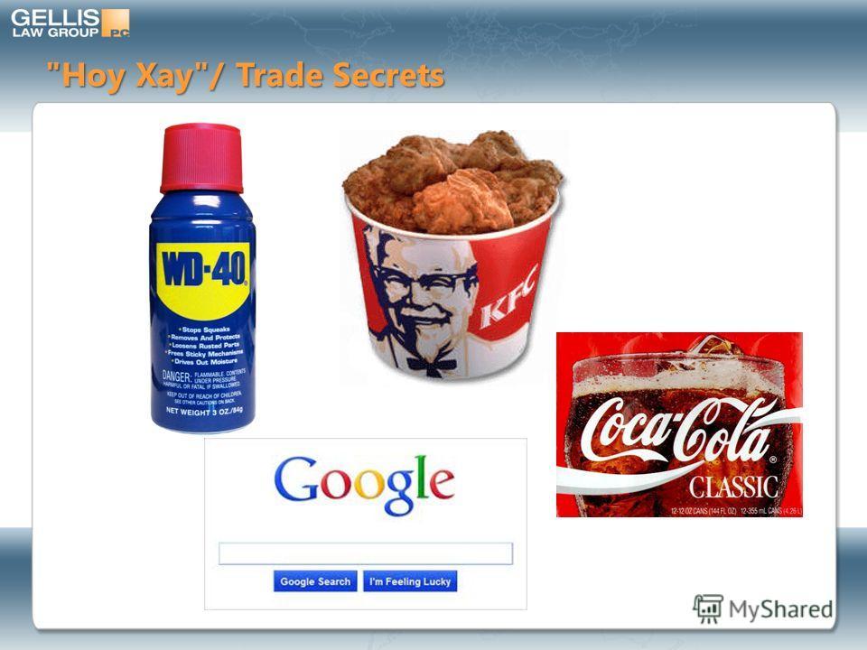 Ноу Хау/ Trade Secrets