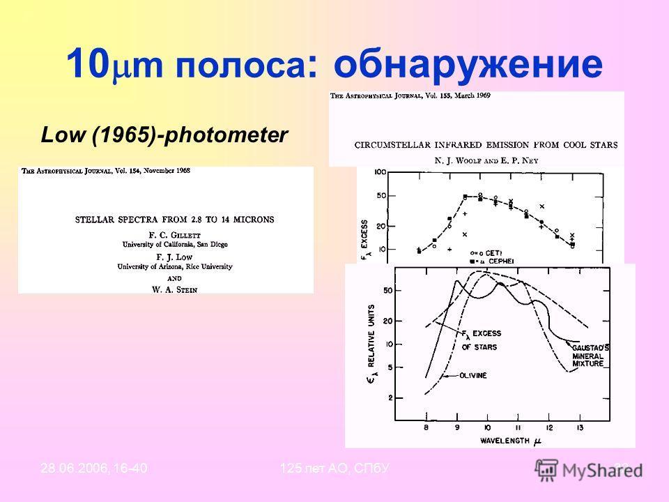 28.06.2006, 16-40125 лет АО, СПбУ31 10 m feature