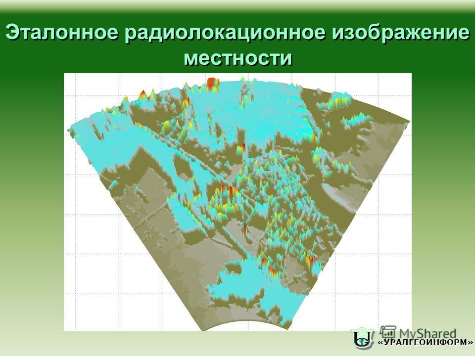 «УРАЛГЕОИНФОРМ» Эталонное радиолокационное изображение местности