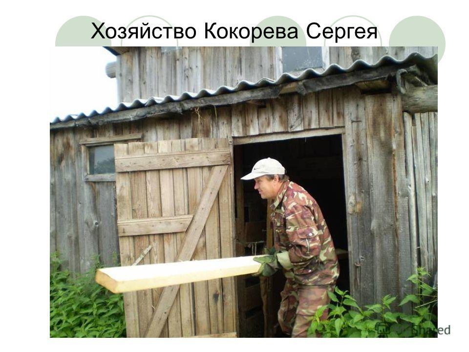 Хозяйство Кокорева Сергея Викторовича