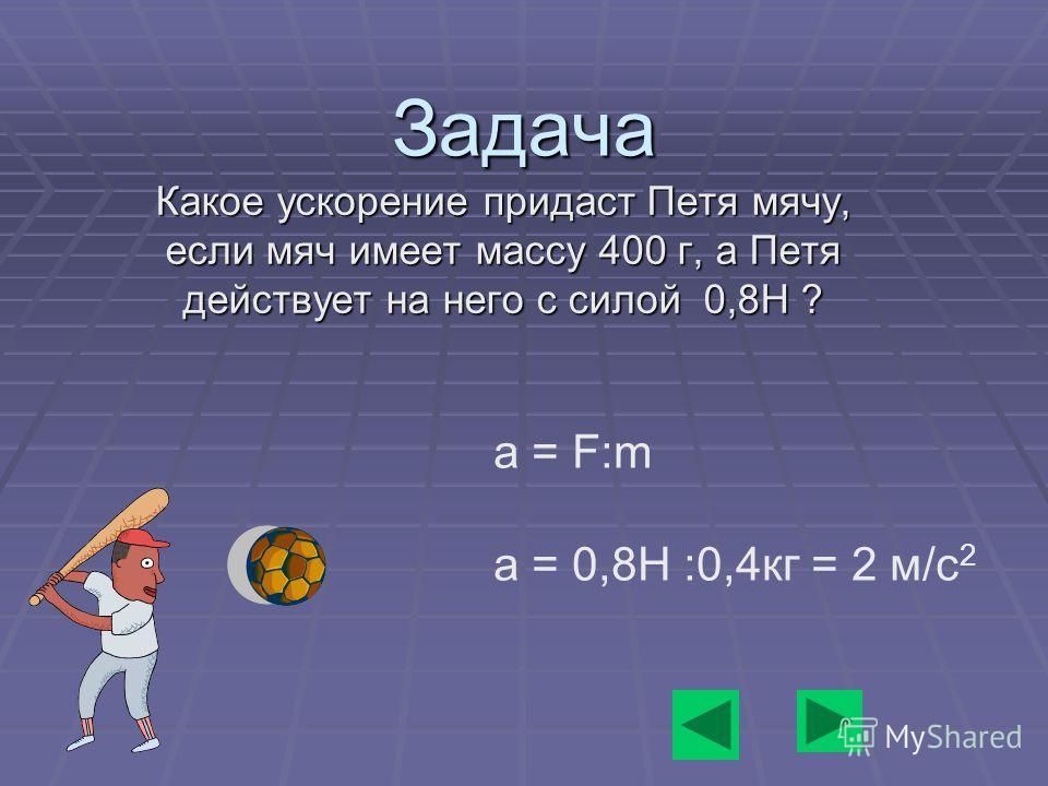 Второй закон Ньютона Ускорение тала прямопропорционально действующей на него силе и обратнопропорционально его массе. Ускорение тала прямопропорционально действующей на него силе и обратнопропорционально его массе. a=F/m