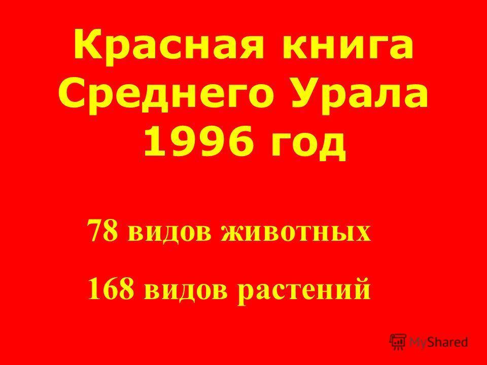 Красная книга СССР 1978 год 154 вида животных 437 видов растений