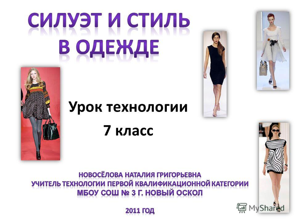 Презентация на тему мода от лат