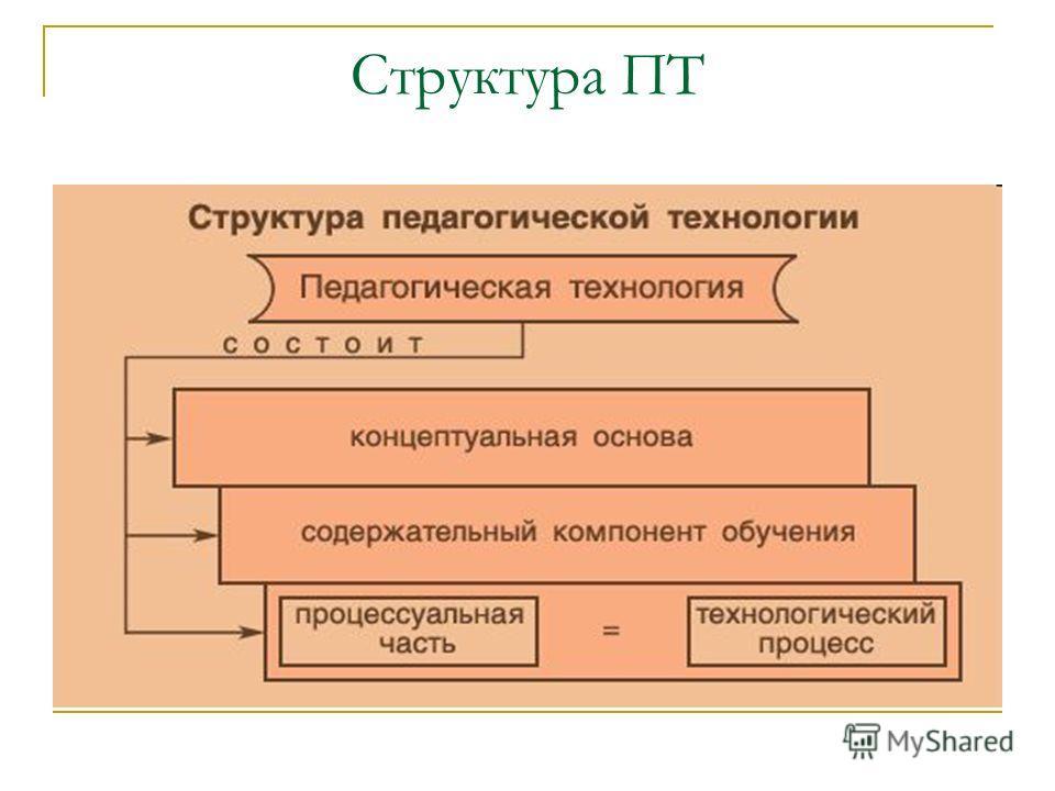 Структура ПТ