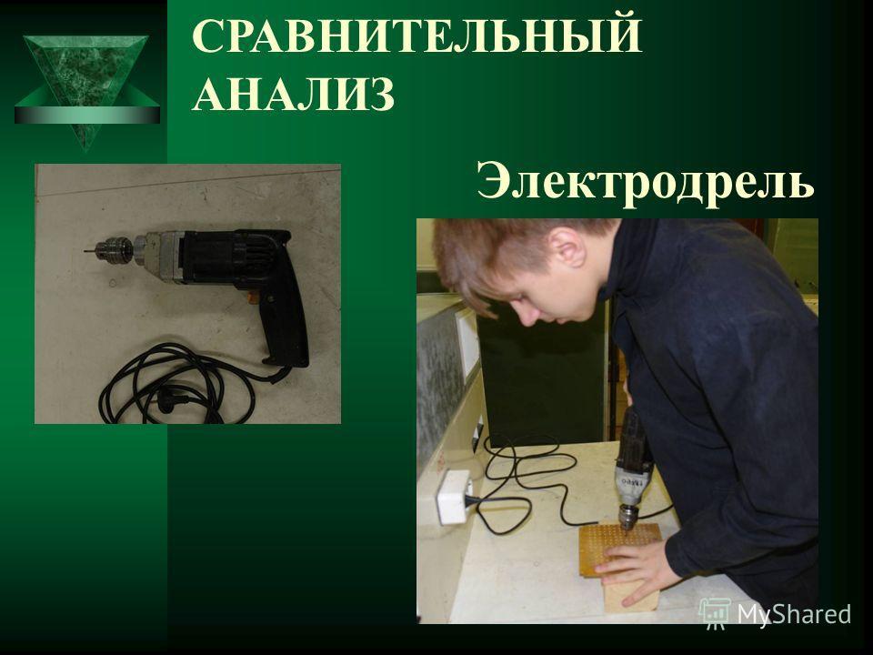 Электродрель СРАВНИТЕЛЬНЫЙ АНАЛИЗ