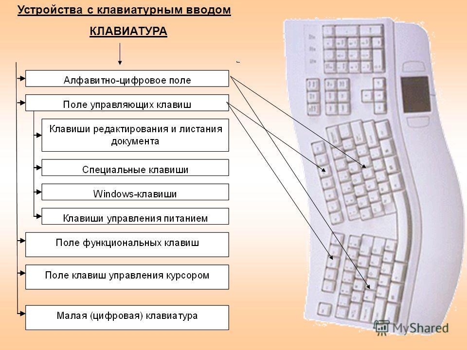 Устройства с клавиатурным вводом КЛАВИАТУРА